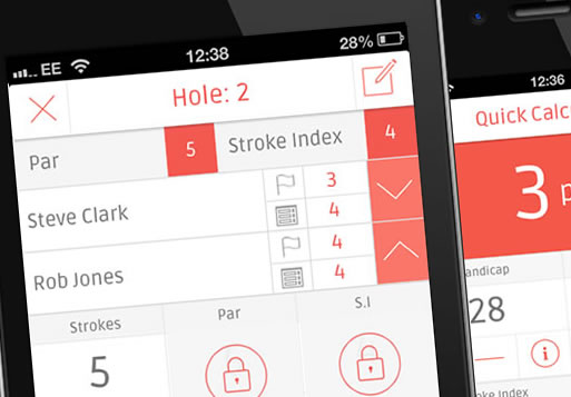 Stableford Golf Calculator iPhone and Android Application