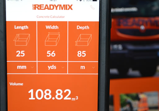 Rapid ReadyMix out iPhone Application - Fleet, Hampshire Surrey